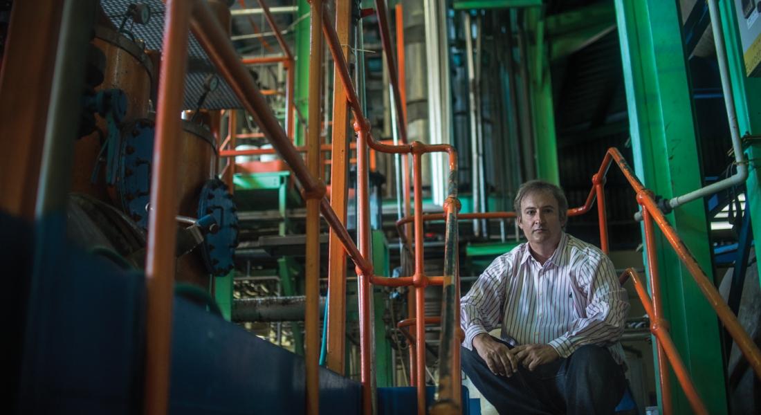 Richard Seale (Master Distiller at Foursquare Distillery)